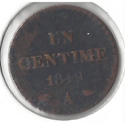 1 CENTIME DUPRE 1949 A TB