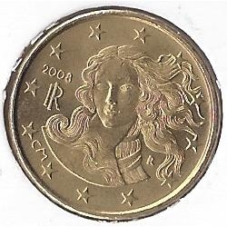 Italie 2008 10 CENTIMES SUP