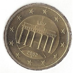 ALLEMAGNE 10 CENTIMES 2002 A  SUP