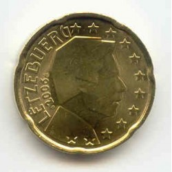 Luxembourg 2006 20 CENTIMES SUP