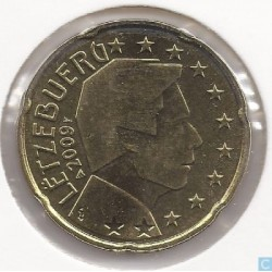 Luxembourg 2009 20 CENTIMES SUP