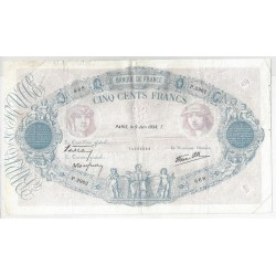 FRANCE 500 FRANCS BLEU ET ROSE 09/06/1938 TB+ P.2962