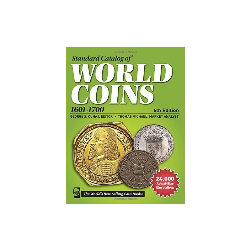 WORLD COINS 1601-1700 6eme edition