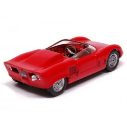 ABARTH 1000 SPIDER SPORT 1963 rouge 1/43 ème