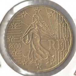 France 2000 50 CENTIMES SUP