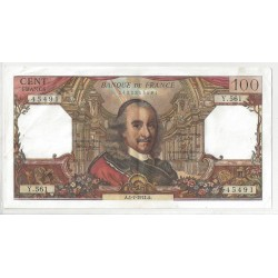 FRANCE 100 FRANCS CORNEILLE 01/07/1971 Y.561 SUP