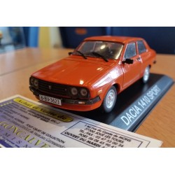 DACIA 1410 SPORT 2 PORTES ORANGE (RENAULT 12 COUPE) 1/43