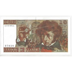 FRANCE 10 FRANCS BERLIOZ 04/12/1975  X.263 SPL