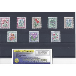 YVERT 95 a 102 TAXE FLEURS DES CHAMPS Serie 8 Timbres NEUF
