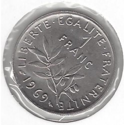 FRANCE 1 FRANC ROTY 1969 SUP