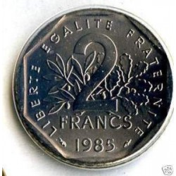 FRANCE 2 FRANCS ROTY 1985 FDC