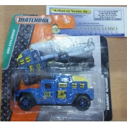 MATCHBOX MBX EXPLORERS HUMMER W/RAMP New