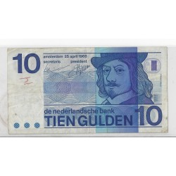 HOLLANDE 10 GULDEN 25 04 1968  TB+