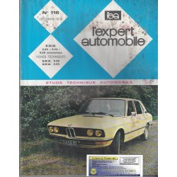 EXPERT AUTOMOBILE BMW 520 520 I et 520 automatique N°116 Decembre 1975