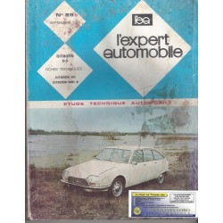 EXPERT AUTOMOBILE CITROEN GS et AMI 8 N°69 SEPTEMBRE 1971