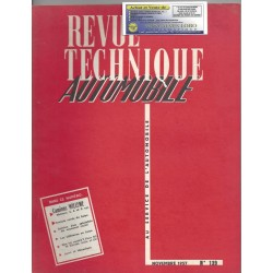 REVUE TECHNIQUE AUTOMOBILE N° 139 RTA NOVEMBRE 1957 CAMION WILLEME 4 6 ET 8 CYLINDRES