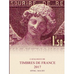 MAURY France 2017 - Tome I Timbres de France édition 2015-2016