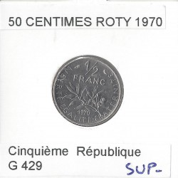 50 CENTIMES ROTY 1970 SUP-