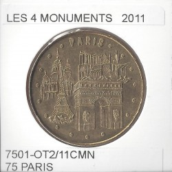 75 PARIS LES 4 MONUMENTS 2011 SUP