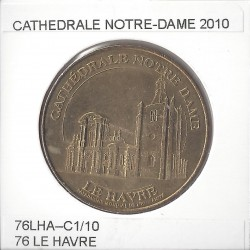 76 LE HAVRE CATHEDRALE NOTRE -DAME 2010 SUP