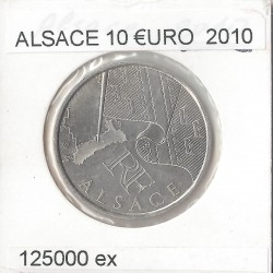 France 2010 10 EURO REGION ALSACE