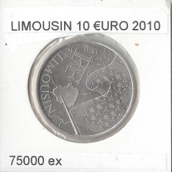 France 2010 10 EURO REGION LIMOUSIN