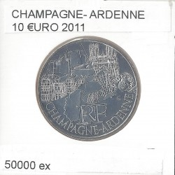 France 2011 10 EURO REGION CHAMPAGNE ARDENNES