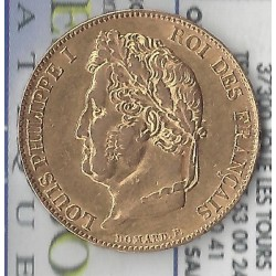 20 FRANCS OR LOUIS PHILIPPE 1 ER 1848 A ( PARIS ) en etat TTB+ OR GOLD ORO
