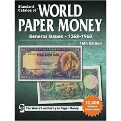 WORLD PAPER MONEY 1368 - 1960