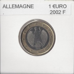 Allemagne 2002 F 1 EURO SUP
