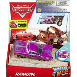 RAMONE DISNEY PIXAR CARS WHEEL ACTION DRIVER
