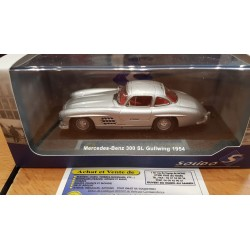 MERCEDES BENZ 300 SL GULLWING 1954 SOLIDO 1/43 1:43 Ref: 4301100