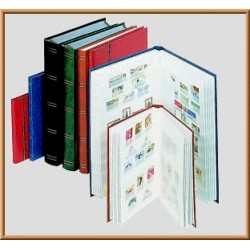 CLASSEUR TIMBRES 64 PAGES VERT (lindner)