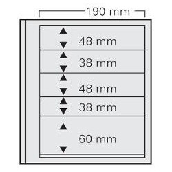 PAGES SPECIAL DUAL 5 BANDES (2x(48x190) + 2x(38x190) + 1x(60x190)) (safe)
