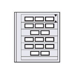 PAGES SPECIAL DUAL 5 bandes 664-5 (safe)