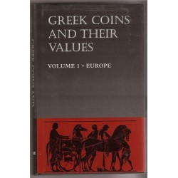 GREEK COINS AND THEIR VALUES VOLUME I .EUROPE