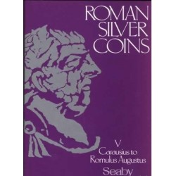 ROMAN SILVER COINS  V CARAUSIUS TO ROMULUS AUGUSTUS