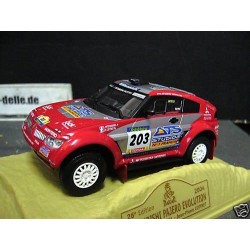MITSUBISHI PAJERO PARIS DAKAR 2004 EVOLUTION N° 203 1/43