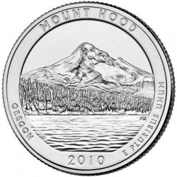 AMERIQUE (U.S.A) 1/4 DOLLAR 2010 D MOUNT HOOD SUP-