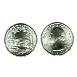 AMERIQUE (U.S.A) 1/4 DOLLAR 2013 S WHITE MOUNTAIN SUP-