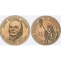 AMERIQUE (U.S.A) 1 DOLLAR 2008 P JOHN QUINCY ADAMS SUP-