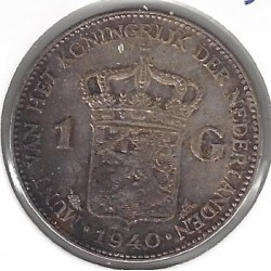 HOLLANDE 1 GULDEN 1940